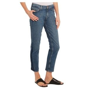 MiH Jeans - MiH Tomboy Cropped Mid-Rise Skinny Boyfriend Jeans